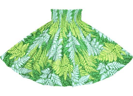 緑のパウスカート パラパライ柄 spau-2775GN