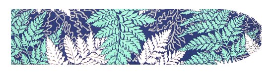 青のパウスカートケース パラパライ柄 pcase-2775BL【メール便可】★オーダーメイド