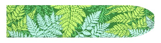 緑のパウスカートケース パラパライ柄 pcase-2775GN【メール便可】★オーダーメイド