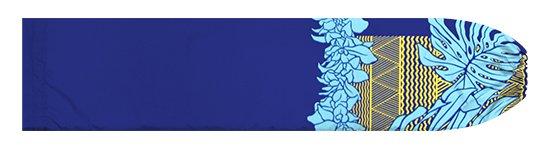 青のパウスカートケース モンステラ・シンビジウム・カヒコ柄 pcase-2778BL【メール便可】★オーダーメイド