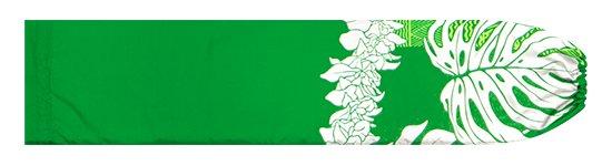 緑のパウスカートケース モンステラ・シンビジウム・カヒコ柄 pcase-2778GN【メール便可】★オーダーメイド