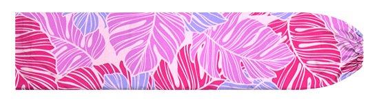 ピンクのパウスカートケース モンステラ柄 pcase-2779Pi【メール便可】★オーダーメイド【TS】