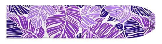 紫のパウスカートケース モンステラ柄 pcase-2779PP【メール便可】★オーダーメイド