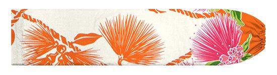 クリーム色とオレンジのパウスカートケース レフア・ティリーフレイ柄 pcase-2780CROR【メール便可】★オーダーメイド