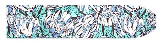 水色のパウスカートケース プロテア柄 pcase-2781AQ【メール便可】★オーダーメイド
