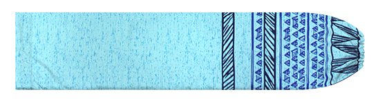 青のパウスカートケース カヒコ・ボーダー柄 pcase-2782BL【メール便可】★オーダーメイド