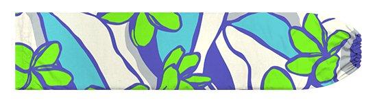 青ときみどりのパウスカートケース プロテア柄 pcase-2783BLLG【メール便可】★オーダーメイド