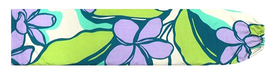 緑と紫のパウスカートケース プルメリア柄 pcase-2783GNPP【メール便可】★オーダーメイド