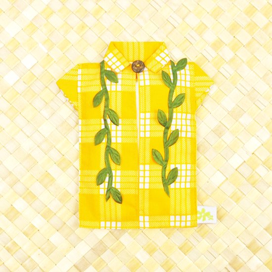 アロハシャツポケットティッシュケース マイレレイ 黄色B tsc-aloha-m-YW-B【メール便可】