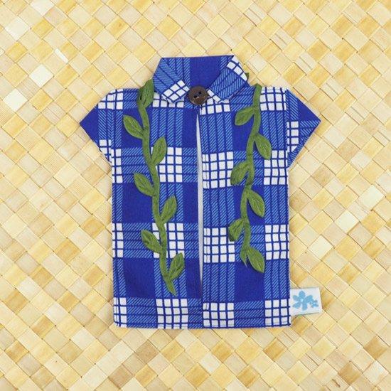 アロハシャツポケットティッシュケース マイレレイ 青 tsc-aloha-m-BL【メール便可】
