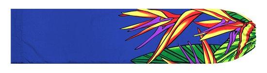 青のパウスカートケース バードオブパラダイス柄 pcase-2784BL【メール便可】★オーダーメイド