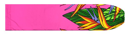 ピンクのパウスカートケース バードオブパラダイス柄 pcase-2784Pi【メール便可】★オーダーメイド【TS】