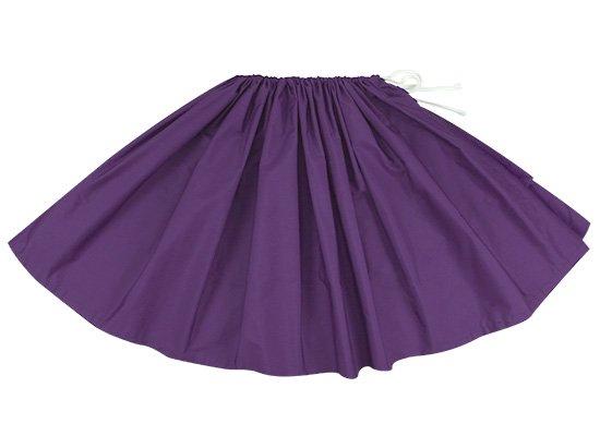 【紐パウスカート】 ディープバイオレットの無地パウスカート himo-deepviolet 65cm 1本紐 特殊ピッチ 【既製品】