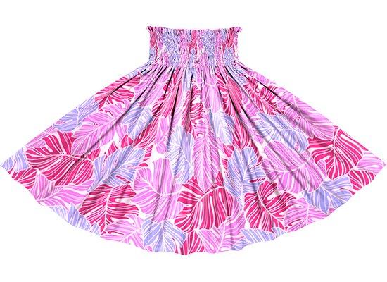 ピンクのパウスカート モンステラ柄 sprm-2779Pi 68cm 4本ゴム ロック仕上げ 【既製品】
