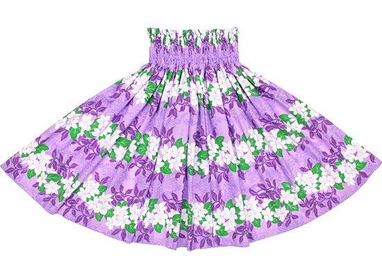【蔵出し】紫のパウスカート プルメリア・キルト・ボーダー柄 spau-re-2564PP【NPS】