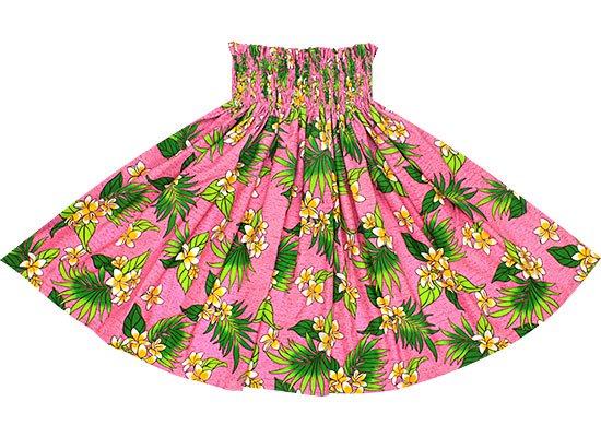 【蔵出し】ピンクのパウスカート プルメリア柄 spau-re-2583Pi【NPS】
