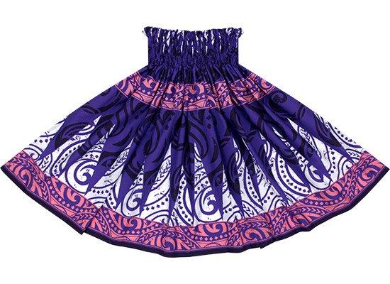 【蔵出し】紫のパウスカート トライバル・カヒコ柄 spau-re-2649PP【NPS】