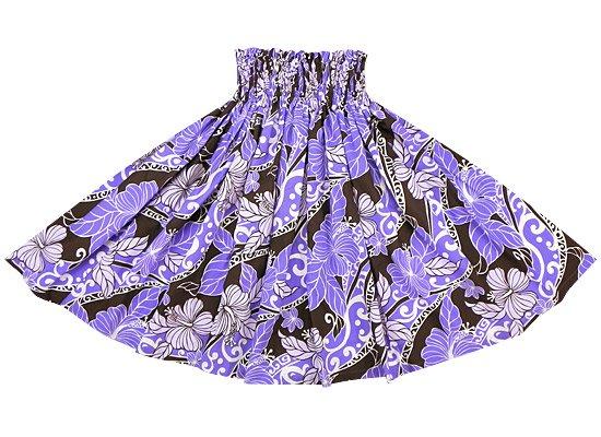【蔵出し】紫のパウスカート ハイビスカス柄 spau-re-2191PP【NPS】