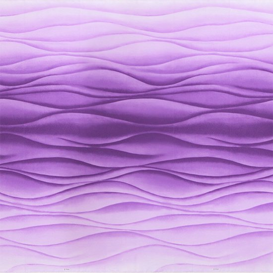 【カット生地】(2.5ヤード) 紫のハワイアンファブリック ウエーブ・グラデーション柄 fab2.5y-2606PP 【4yまでメール便可】