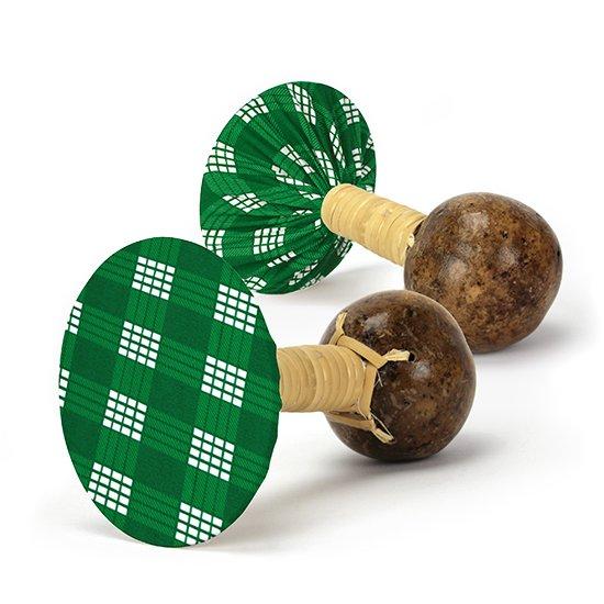 軽くて振りやすいウリウリ(ウリーウリー) 緑のパラカ柄 Mサイズ (ヒロ・せきね製)【オーダーメイド】
