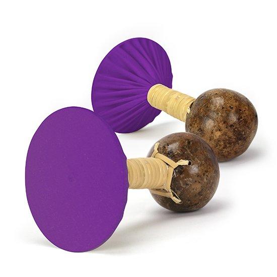 軽くて振りやすいウリウリ(ウリーウリー) 紫の無地生地 Mサイズ (ヒロ・せきね製)【オーダーメイド】