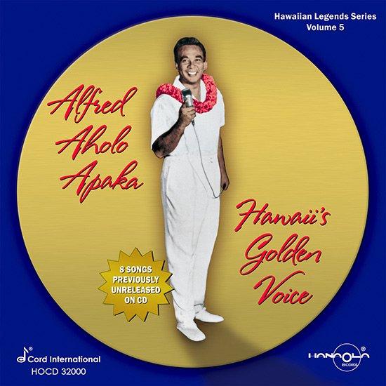 【CD】Hawaii's Golden Voice / Alfred Aholo Apaka ( ハワイズ・ゴールデン・ボイス / アルフレッド・アホロ・アパカ ) 【メール便可】