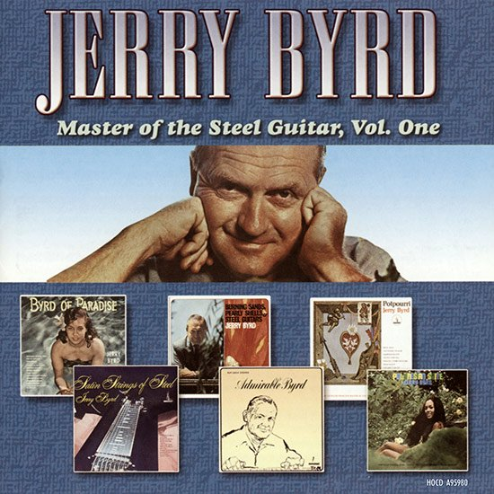 【CD】Master of the Steel Guiter, Vol.1 / Jerry Byrd ( マスター・オブ・ザ・スティール・ギター 1 / ジェリー・バード ) 【メール便可】