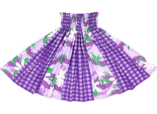 【パネル切り替えパウスカート】紫のティアレ・ジンジャーレイ柄と紫のパラカ柄 pnpau-2591PP【TS】