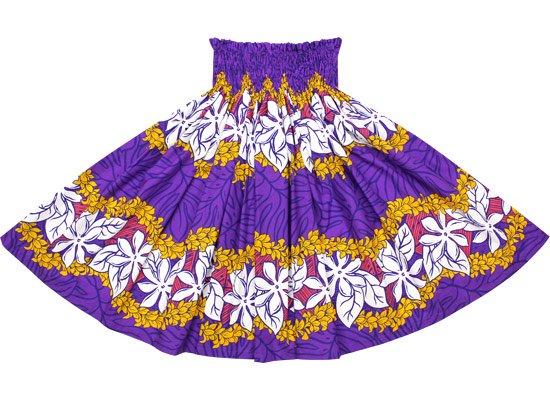 【蔵出し】紫のパウスカート ティアレ・チューべローズ・ボーダー柄 spau-2472PP-re