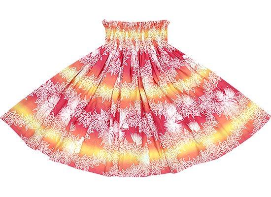 【蔵出し】ピンクのパウスカート レフア・マイレ・グラデーション柄 spau-2529PiOR-re