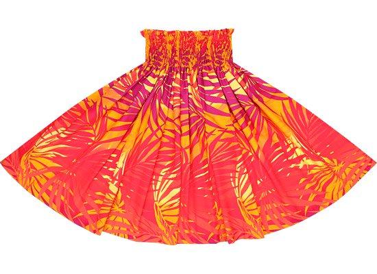 【蔵出し】オレンジのパウスカート ヤシ柄 spau-2556ORYW-re
