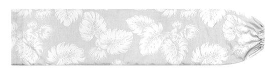 白のパウスカートケース レフア・モンステラ柄 pcase-2786WH【メール便可】★オーダーメイド