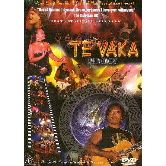 【DVD】 Te Vaka Live in Concert  / Te Vaka テ・ヴァカ・ライブ・イン・コンサート 【メール便可】