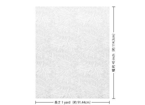 【カット生地】(1ヤード)白のハワイアンファブリック ティリーフ柄 fab1y-2764WH 【4yまでメール便可】