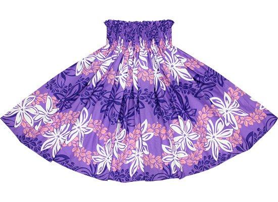 紫のパウスカート ティアレ・マイレレイ柄 spau-2559PP-re