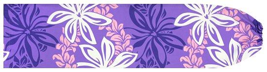 紫のパウスカートケース ティアレ・マイレレイ柄 pcase-2559PP 【メール便可】★オーダーメイド