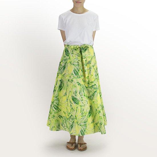 3way スカート ワンピース ティリーフ総柄 きみどり 01004-2766LG