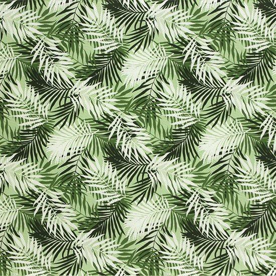 緑のハワイアンファブリック ヤシ柄 fab-2789GN 【4yまでメール便可】