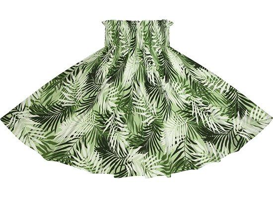 緑のパウスカート ヤシ柄 spau-2789GN