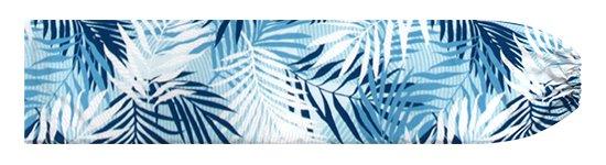 水色のパウスカートケース ヤシ柄 pcase-2789AQ 【メール便可】★オーダーメイド