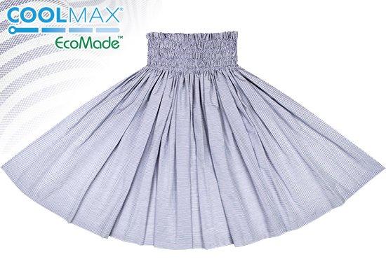 夏に快適な接触冷感・吸水速乾 COOLMAX 青と白のパウスカート ローン spau-cm-lawnBLWH クールマックス(R)