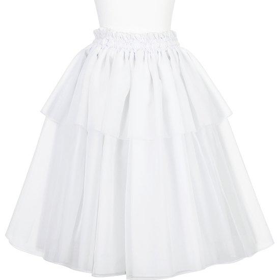 【オーガンジーパウスカート】 ホワイトのオーガンジーパウスカート ogpau-rm-WH 75cm【既製品】