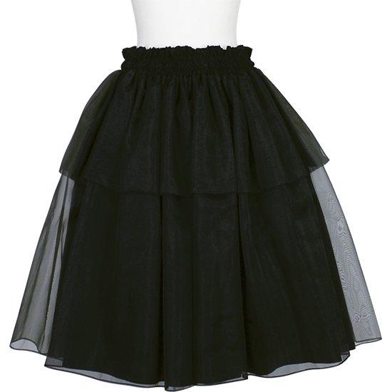 【オーガンジーパウスカート】 ブラックのオーガンジーパウスカート ogpau-rm-BK 75cm【既製品】