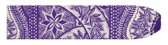 紫のパウスカートケース カヒコ・リーフ柄 pcase-2797PP 【メール便可】★オーダーメイド
