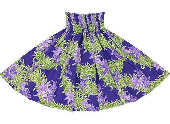 【蔵出し】 紫のパウスカート スパイダーリリー・リーフレイ柄 spau-2587PP-re