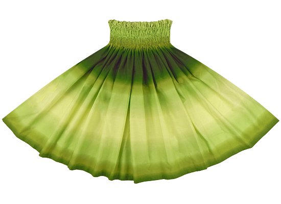 きみどりと緑のパウスカート グラデーション柄 2270LGGN 75cm 4本ゴム ロック仕上げ【既製品】