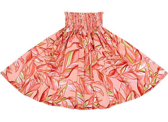 【蔵出し】 ピンクと赤のパウスカート リーフ柄 spau-2644PiRD-re