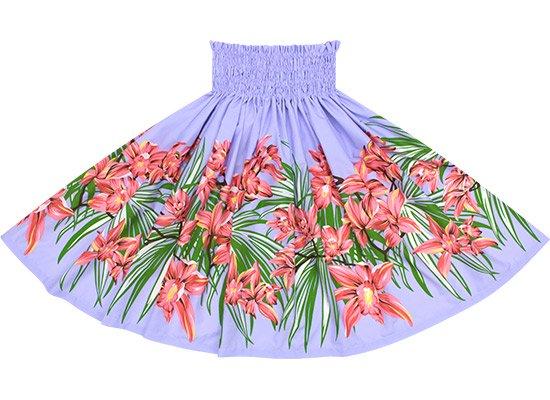 【蔵出し】 紫のパウスカート オーキッド柄 spau-2645PP-re