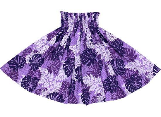 【蔵出し】 紫のパウスカート モンステラ・パラパライ柄 spau-2646PP-re