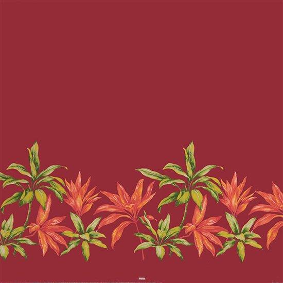 【カット生地】(3ヤード) 紫とピンクのハワイアンファブリック ティリーフ柄 fab-3y-2636PPPi 【4yまでメール便可】